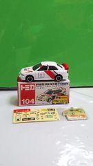 No.104 三菱ランサーエボリューション�W WRCタイプ    赤箱