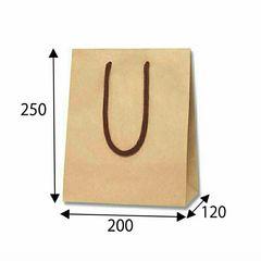 ☆新品☆手提紙袋(無地緑色)100枚(ラッピング、業務用等に…)