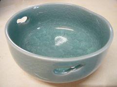 第一陶器の青磁貫入り小鉢5ヶセット