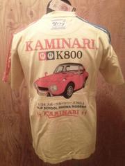 新作/カミナリ雷/Tシャツ/ヨタハチ/CUS/M/KMT-62/エフ商会/テッドマン/東洋