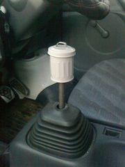 空き缶シフトノブゴミ箱風M12×P1.25人気レトロ