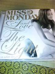CD Miss Monday(ミスマンディ)Love&The Light(w/a white lie)