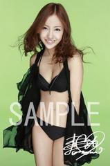 【送料無料】 AKB48板野友美 写真5枚セット<サイン入>11