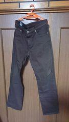 EDWIN エドウィン 403 パンツ ブラウン デニム ジーンズ size32