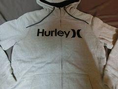 USA購入 Hurley 裏地ボア フルジップパーカーUS L