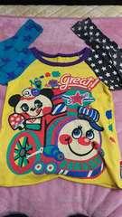 ラブレボ男女OK!Tシャツ130  パンダ