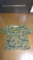 Tシャツ  半袖  迷彩柄