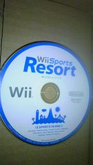 Wiiソフト☆Wii Sports Resort/Wiiスポーツ リゾート☆ディスクのみ