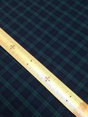 約145�p幅×1.2m・ブラックウォッチ系チェック(��1281)
