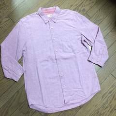 美品J.N.R.D シャンブレーシャツ ピンク ジュンメン