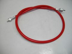 (2056)Z400FXZ400LTD�U赤スピードメーターワイヤー