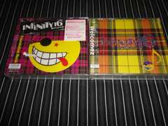 INFINITY16『FOUNDATION~』新品初回盤+『WELCOMEZ』初回盤(MINMI