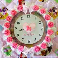 姫系★ルビーローズ★時計