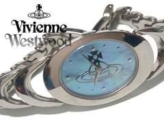 美品 1スタ★ヴィヴィアン・ウエストウッド シェル文字盤 腕時計
