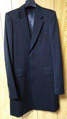 正規未 GalaabenD ガラアーベント タキシードクロス ロングジャケット黒 M ドレス コート