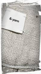 *& yarn* ハンプ生地 羽織 新品 natural