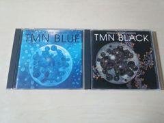 TMN CD 2枚セット★「BLUE」「BLACK」小室哲哉 木根尚登