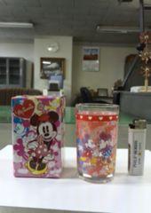新品☆ミッキー&ミニーグラス(コップ)