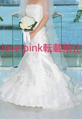TAKAMI BRIDAL☆ロングベール/花×ビーズ/結婚式/ウエディング
