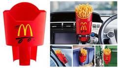 マクドナルド取り付け簡単*ドライブで便利★ポテトホルダー未開封