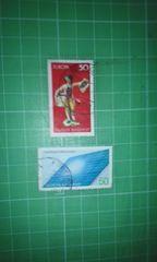 旧西ドイツ記念50切手♪