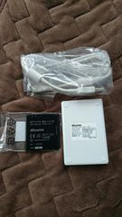 DOCOMO 純正電池パックL18 バッテリーチャージャー L01 ドコモ