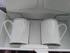 新品箱入り/4℃ペアマグカップ