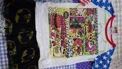 JAM☆5分袖Tシャツ120☆ジャム☆星条旗柄