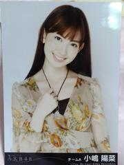 AKB48風は吹いている小嶋陽菜劇場盤生写真