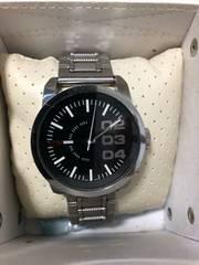 ディーゼル ビッグフェイス 腕時計 DZ-1370 稼働品