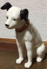 ビクター ニッパー犬 陶器置物 16cm Victor NIPPER ディスプレー