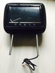 新品未使用!9インチヘッドレストモニター(黒モケット)