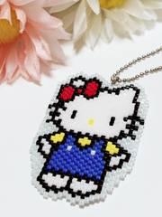 *:。白猫ちゃんのビ-ズステッチ*: 。