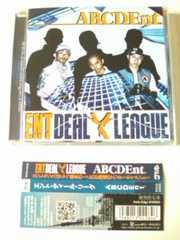 (CD)ENT DEAL LEAGUE<ミッキーリッチ/ケンユー/ドミノカット>☆ABCDEnt.帯付