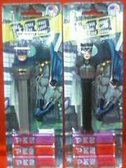 ☆PEZ☆バットマン&キャットウーマン☆2点セット☆未開封☆ペッツ☆