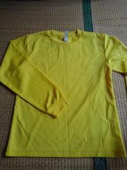 黄色長袖Tシャツ