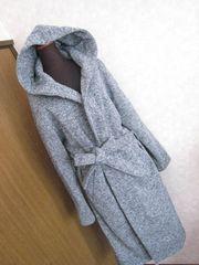 ニコアンド/niko and… 軽くて暖かいグレーのコート★美品サイズ3・Lサイズ