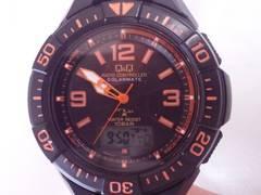 5680/シチズン★電波時計ソーラー充電モデルダイバー型メンズ腕時計格安
