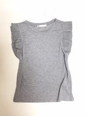 グリーンパークスK@折紙スリーブTシャツ(F)グレー新品