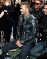David Beckham ベッカムが着ていたレザージャケット 本革