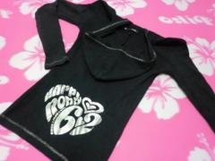RONI 130〜140 ロニィ MLサイズ ブラック パーカー ダンス