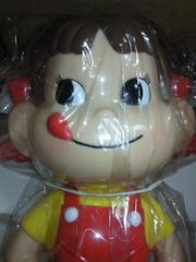 不二家 ペコちゃん 立ち姿 首ふり 人形 フィギュア 箱付き