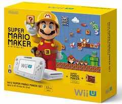 即決 Wii U スーパーマリオメーカーセット 送料無料