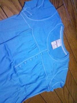 新品★『GARAGEエメラルドブルーTシャツ』〓M