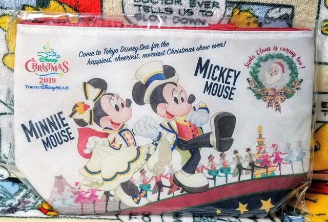 TDS☆ミッキー&フレンズ【スーベニアランチケース】チケットがモチーフ★イッツ・クリスマスタイム  < ホビーの