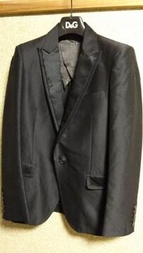 正規良 山下智久 ロアー スモーキングジャケット黒 ダメージラペル×テーラードJK 1 S