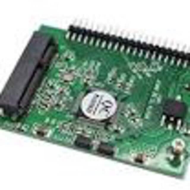mSATA Mini PCI-E SSD → 2.5インチ IDE(  < PC本体/周辺機器の