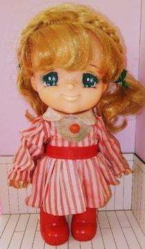 ヘアアレンジしたキャンディキャンディ人形ドールポピーいがらしゆみこ昭和レトロ