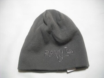wb249 ROXY ロキシー ニット帽 オリーブ色