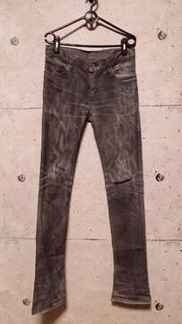 LGBルグランブルー クラッシュデニムパンツS-WOLF 29